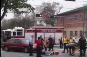 Condit Elementary crossing guard hit by car in Bellaire Texas