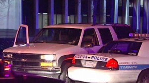 drunk driver crashes into police car on Corporate Drive Houston