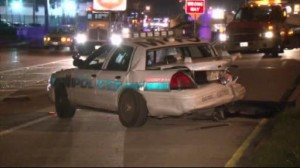 Emanuel Ramirez drunk driver rear end accident HPD patrol car