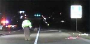 Pedestrian hit by car on Loop 336 in Conroe Texas