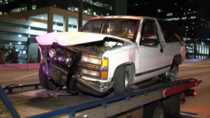 610 West Loop Houston rollover car accident