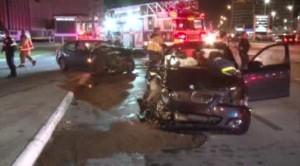 drunk driver in bmw head on crash near The Galleria