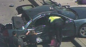 car accident passenger ejected