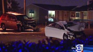 drunk driving accident Honda Civic Old Galveston Road