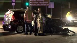 Car accident Sugar Land Grand Parkway Southwest Freeway