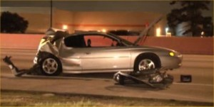 Monte Carlo driver killed rear-end accident Houston