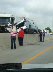 Houston 610 Loop Kirkpatrick tanker truck accident