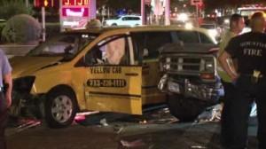 BMW taxi accident Westheimer Houston