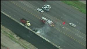 Houston Gulf Freeway dump truck accident fatality
