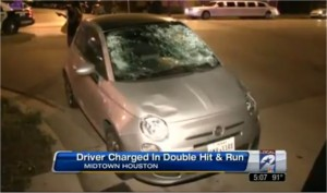 Fiat hits pedestrians in Montrose drunk driver hit-and-run