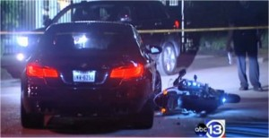 Fatal motorcycle accident restaurant valet BMW Westheimer River Oaks