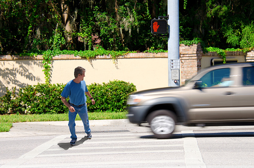 Houston pedestrian accident attorney